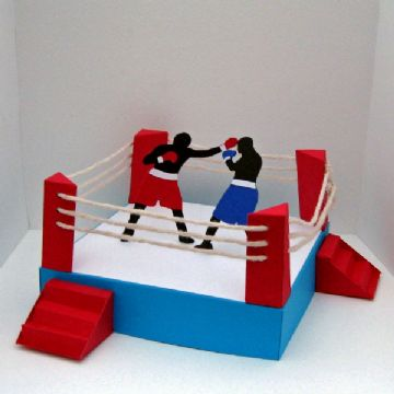 Boxing Ring Template